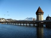 Old Lucerne bridge