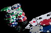 Three Sixes And Failure In Poker