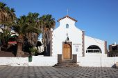 Church In Morro Jable, Fuerteventura