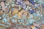 Colorful Rock Texture