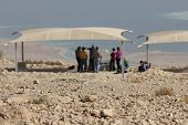Masada, the latest remains of Jewish in the ancient Israel