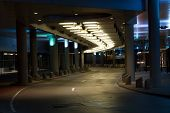 City Underpass At Night