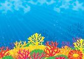 Постер, плакат: Море фон