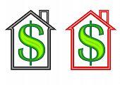 House Money Symbols