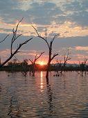 Sunset At The Lagoon