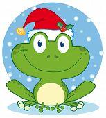 Christmas Happy Frog