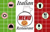 Italian Restaurant Menu