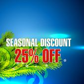 vector seasonal sale background design