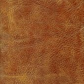Brown leather texture to background