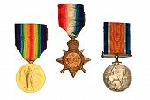 Ww1 War Medals