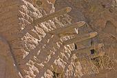 Anasazi Adobe Constructed Dwellings