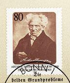 Arthur Schopenhauer Stamp