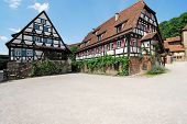 Historic half-timbered houses