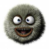 Furry Alien poster