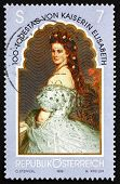 Postage stamp Austria 1998 Elizabeth, Empress ofAustria