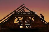 Construcción de techo