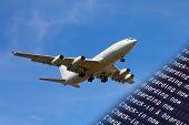 Airport flight information