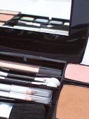 Makeup Compact On An Angle