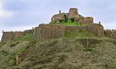 picture of parador  - Cardona castle is a famous medieval castle in Catalonia - JPG