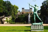 Statue of Mercury in the Park, Sanssouci Palace