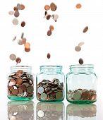 Einsparungen-Konzept