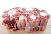 Rabo de boi da carne de bovino