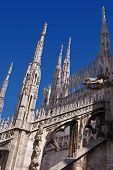 gotische Kathedrale von Mailand Italien