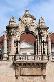 Habsburg Gate In Budapest