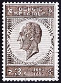 Postage stamp Belgium 1965 Leopold I, King of the Belgians