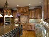 Luxury Kitchen With Center Island