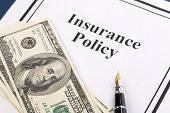 stock photo of insurance-policy  - Insurance Policy Life - JPG