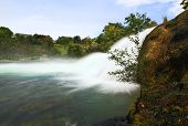 The Rhine Falls In Switzerland