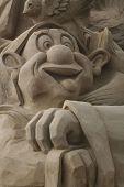 Sandsculpture Dopey