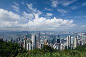 Victoria Peak in Hongkong