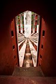 Ancient Architecture.detail. Jantar Mantar Astronomical Observatory In Delhi, India