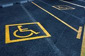 Parking Reserved For Disable People