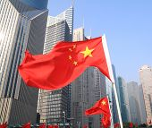 China National Flags