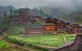 stock photo of west village  - GUANGXI PROVINCE CHINA  - JPG