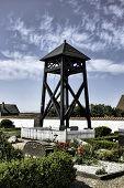 Belltower Of  The Church On Mando, Denmark