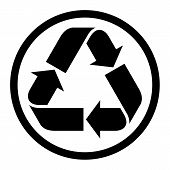 Partially-recycled Paper Symbol