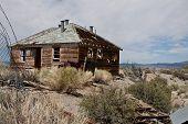 House near Mono Lake