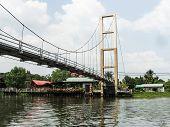 bridge at kwan riam floating market