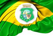Flag Of Ceara State, Brazil.