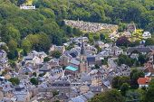Aerial View Of Yport Village On The Normandy Coast, Seine-maritime, France