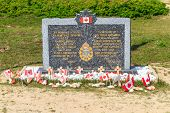 Normandy Landings, Canadian Army Memorial At Juno Beach, France