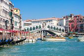 Venice - Rialto Bridge And Canale Grande
