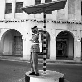Qatar Souq Policeman