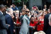 NEW YORK-JUNE 25: Actor Jamie Foxx signs autographs at  the premiere of