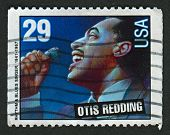 USA - CIRCA 1993: A stamp printed in USA shows image of the Otis Ray Redding, Jr. (September 9, 1941