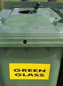 Waste Glass Bin